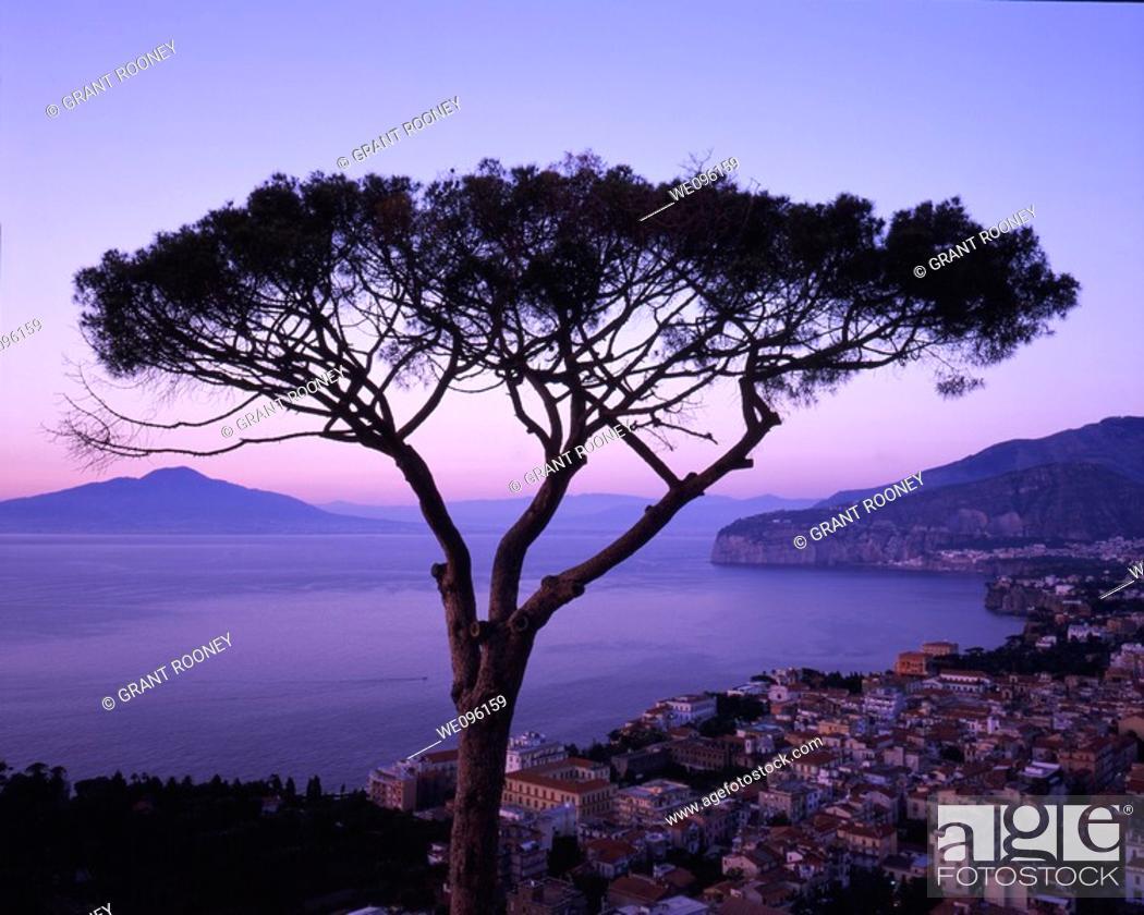 Stock Photo: Famous view of Sorrento, Amalfi Coast, Campania, Italy.