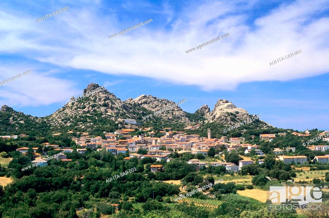 Stock Photo: Italy - Sardinia - North Region - Aggius.