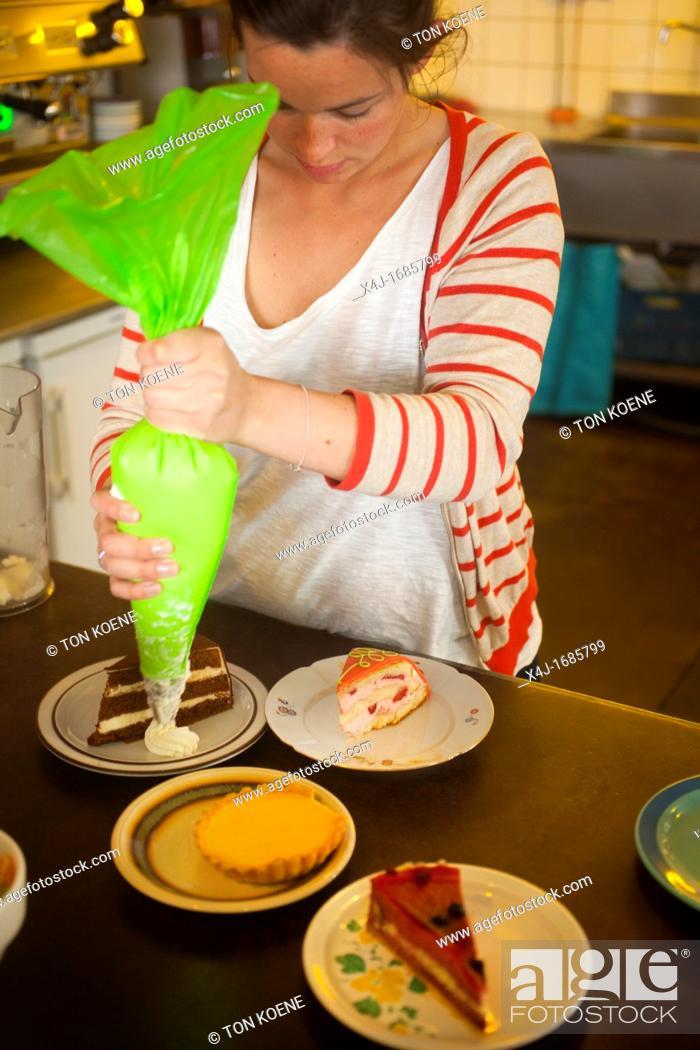 mijn taart shop de taart van mijn tante' is a famous patisserie shop in Amsterdam  mijn taart shop