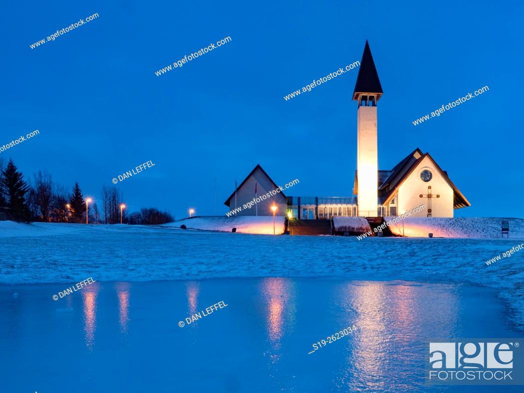 Imagen: Iceland Church.