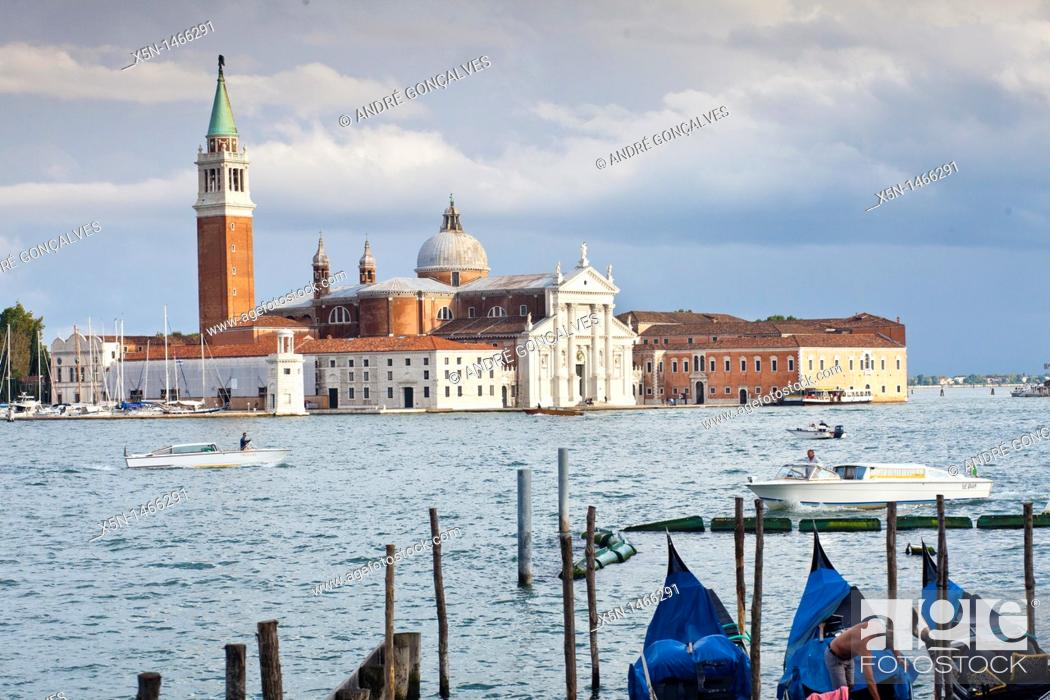 Stock Photo: View from San Marcos. Venice, Italy.