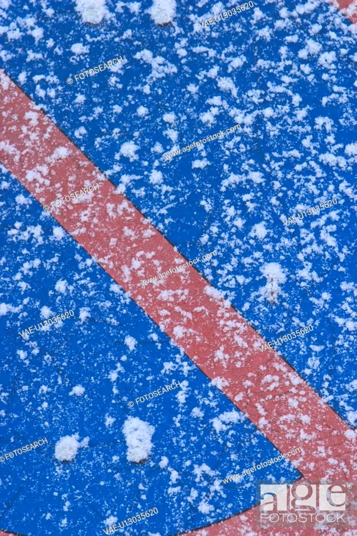 Stock Photo: storm, winter, season, snow, blizzard, freeze.