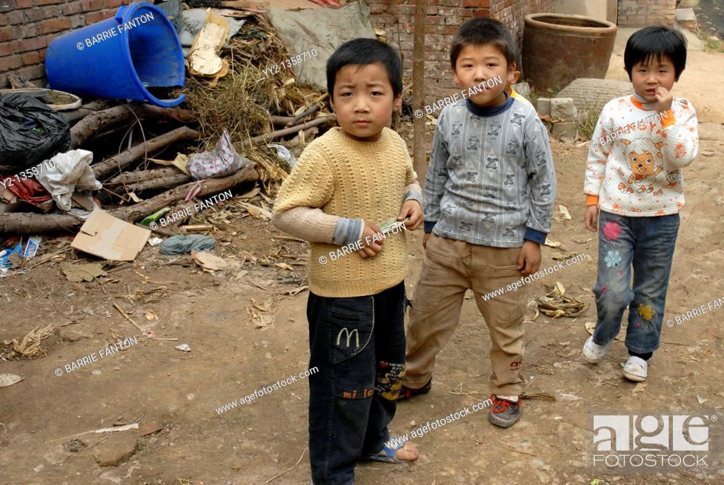 Stock Photo: Children, Beijing, China.