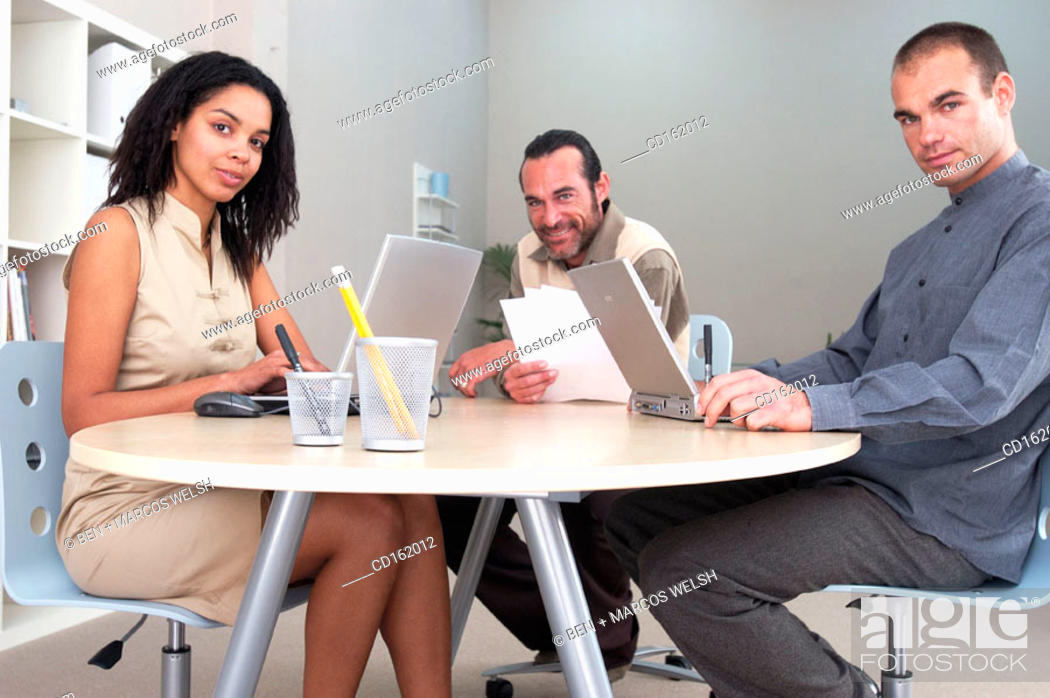 Stock Photo: People.