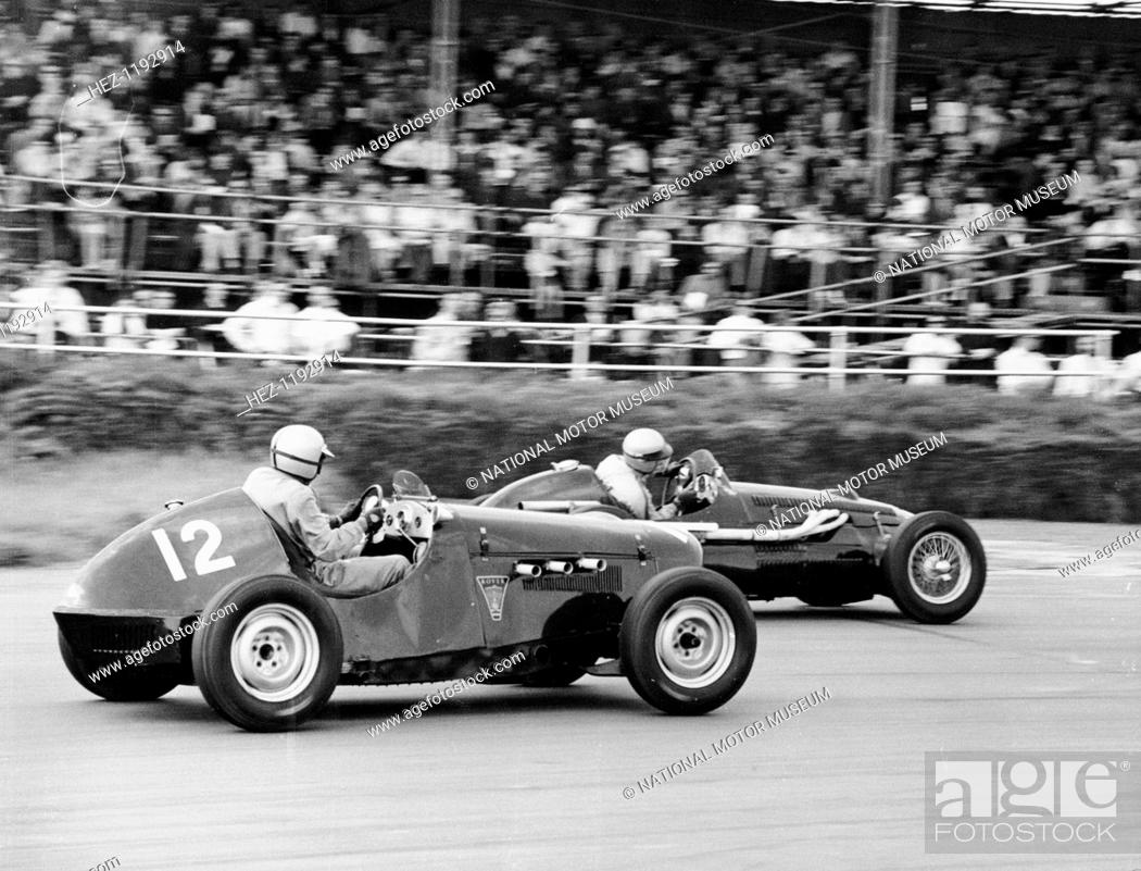 1949 Rover Special and 1951 Alta, Silverstone, Northamptonshire ...