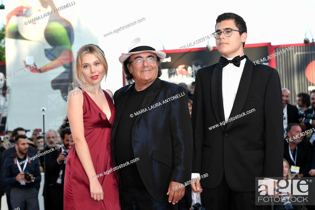 Al Bano Carrisi With His Sons Yasmine And Albano Jr Carrisi