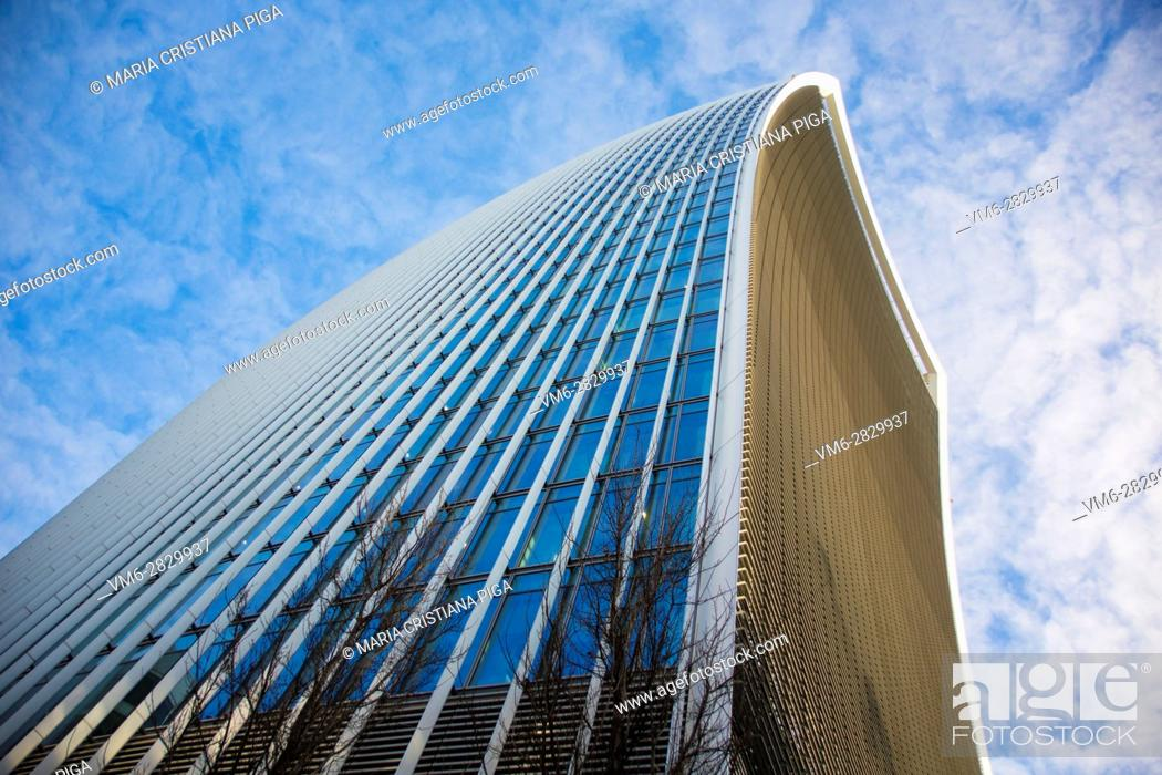 Stock Photo: 20, Fenchurch Street also known as the Walkie Talkie.