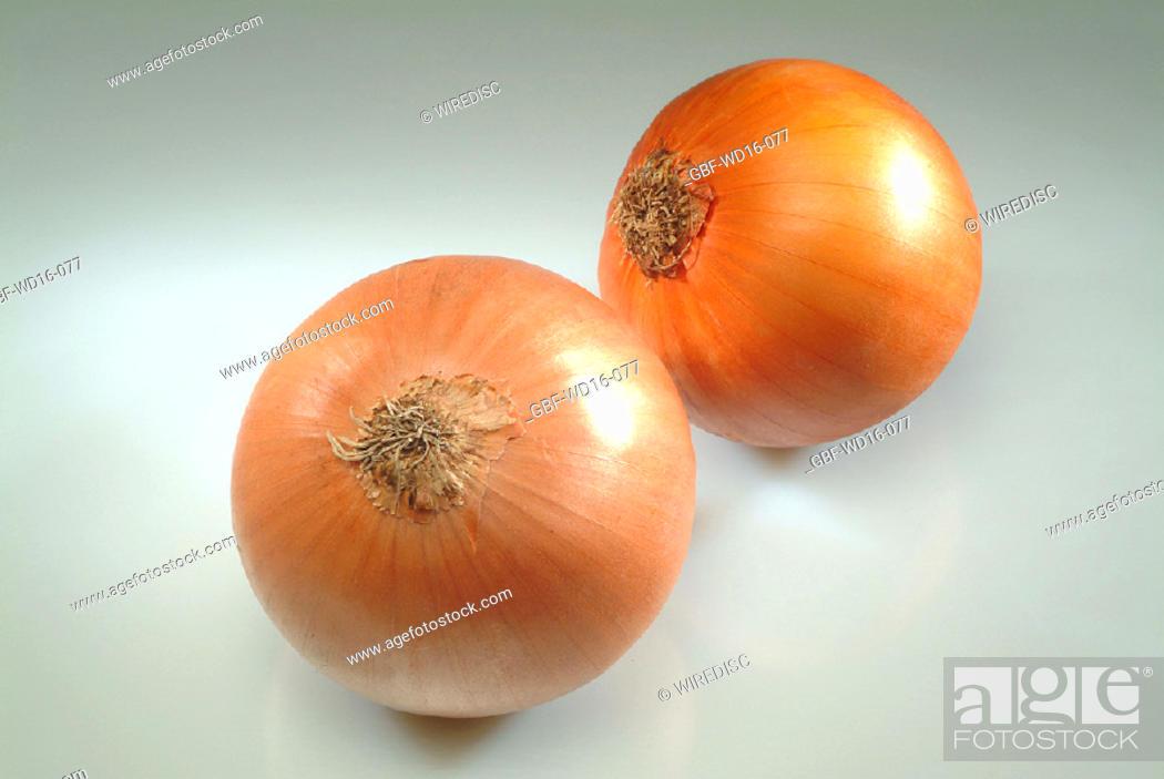 Stock Photo: Food, vegetables, onion.
