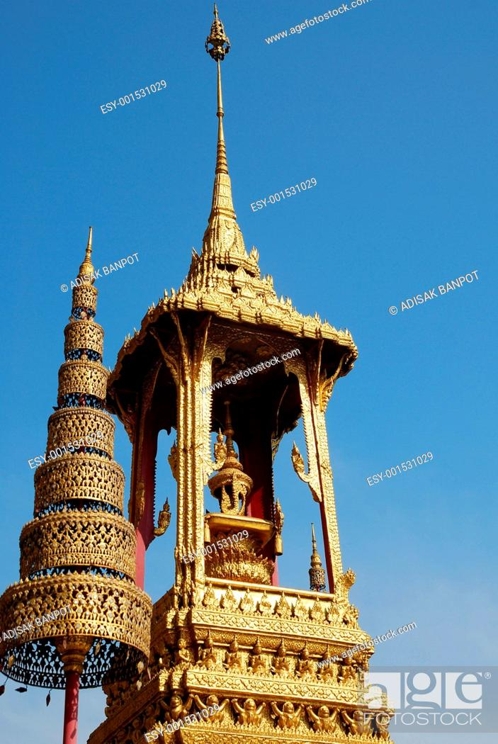 Stock Photo: Thailand Tample in Bangkok.