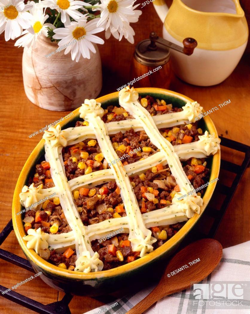 Stock Photo: Shepherd's Pie.