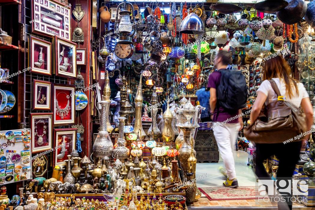 Tourists Shopping In The Muttrah Souk (Al Dhalam), Muttrah