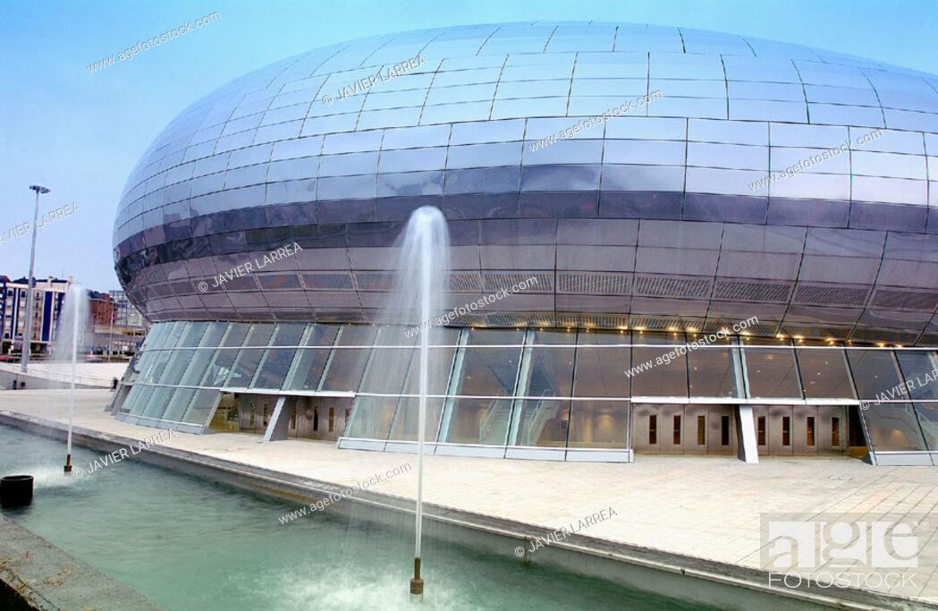 Stock Photo: Palacio de los Deportes. Santander. Spain.