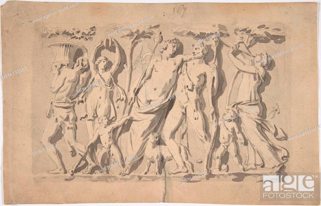 Bacchanal Scene  Artist: Anonymous, French, 18th century