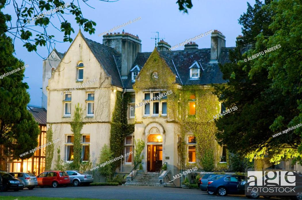 Stock Photo: Hotel Cahernane House, in Killarney. Co. Kerry. Ireland.