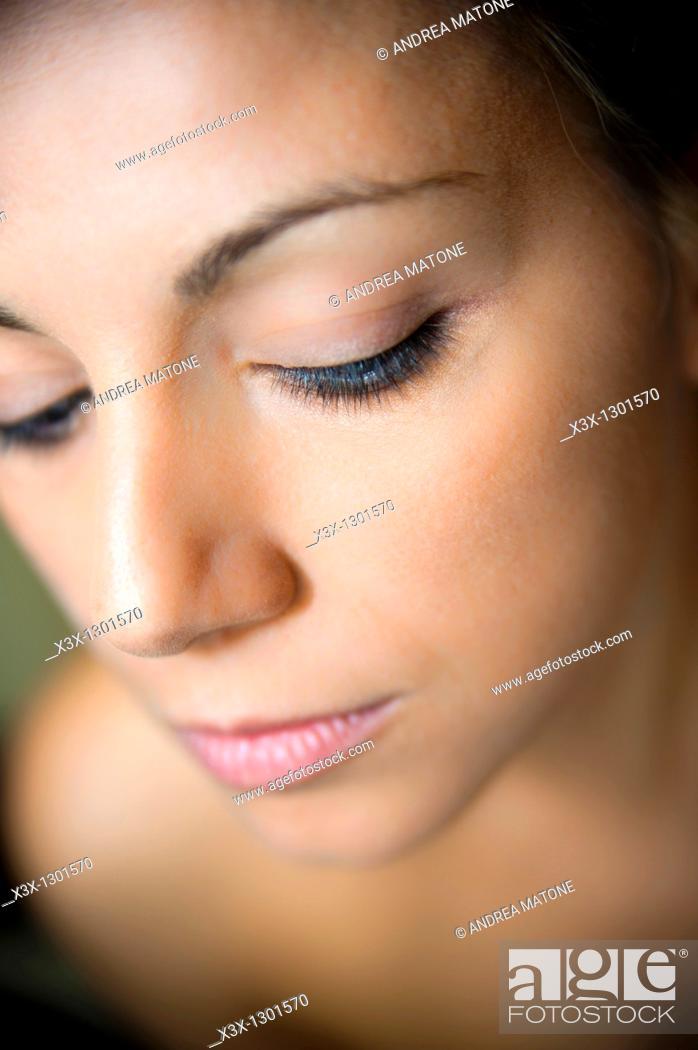 Photo de stock: Woman portrait.