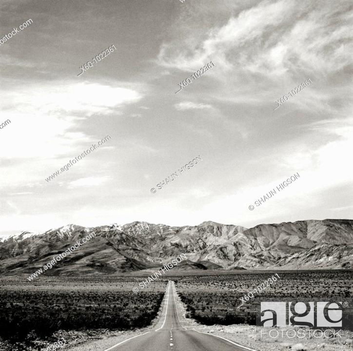 Stock Photo: Travel across America in California in the United States of America.