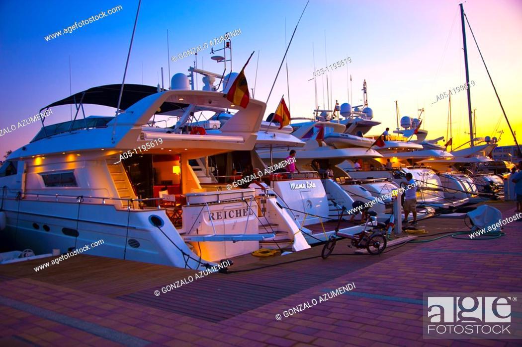 Stock Photo: La Savina. Formentera. Balearic Islands. Spain.
