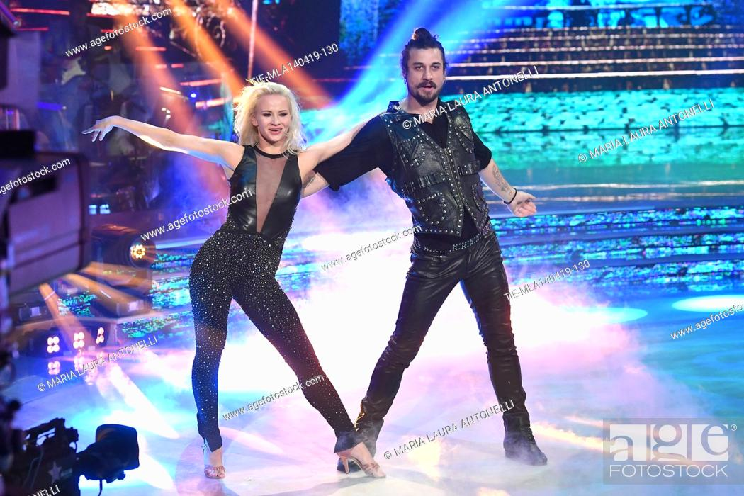 Imagen: Dani Osvaldo during the performance at the talent show ' Ballando con le stelle ' (Dancing with the stars) Rome, ITALY-14-04-2019.