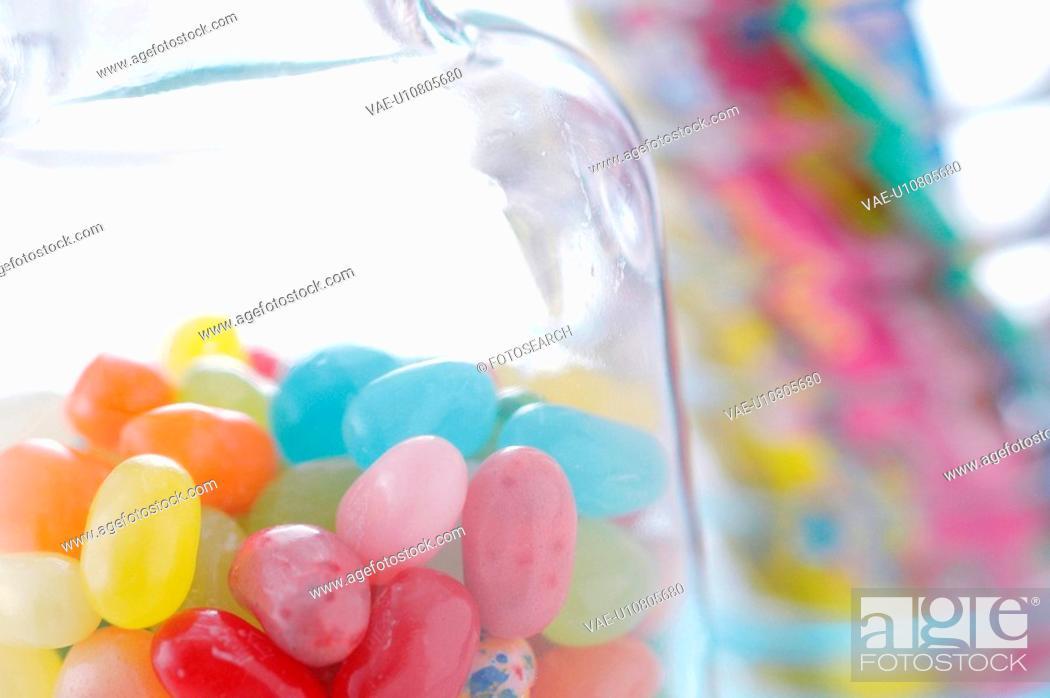 Stock Photo: Jelly Beans.