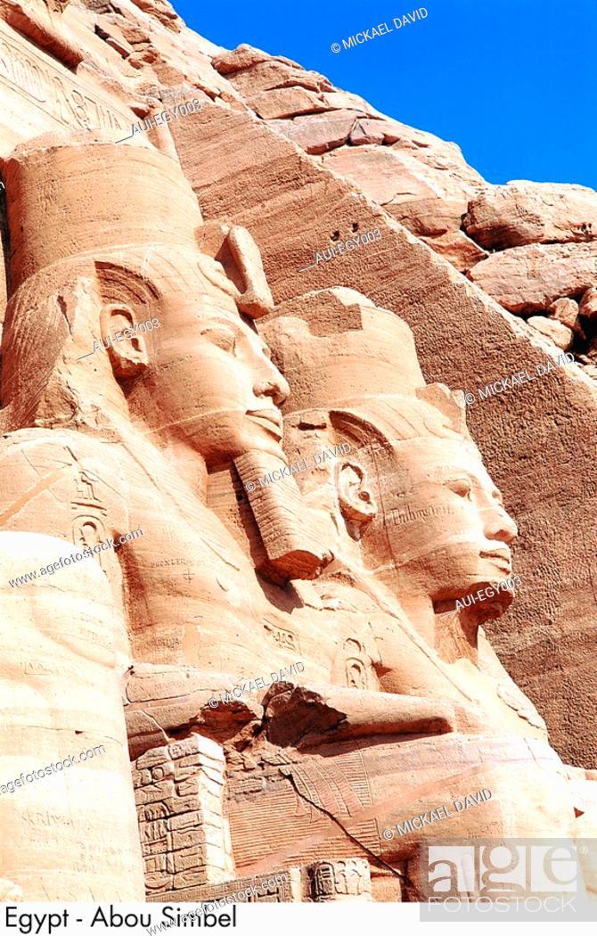 Stock Photo: Egypt - Abu Simbel.