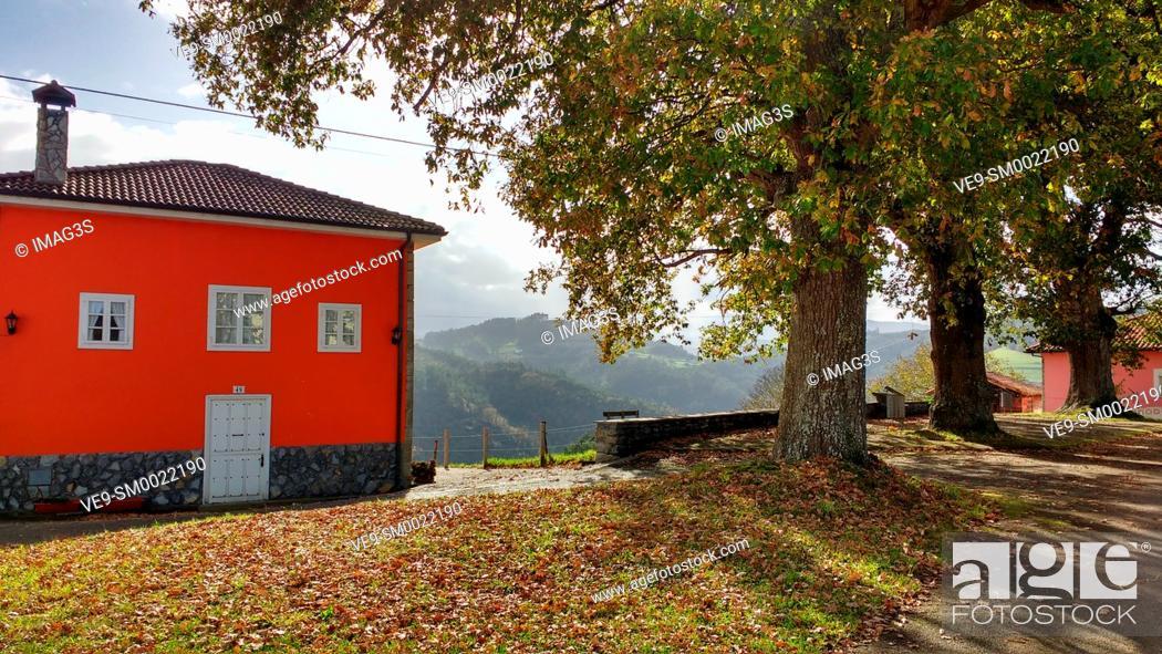 Imagen: Folgueras, Pravia munilipality, Asturias, Spain.