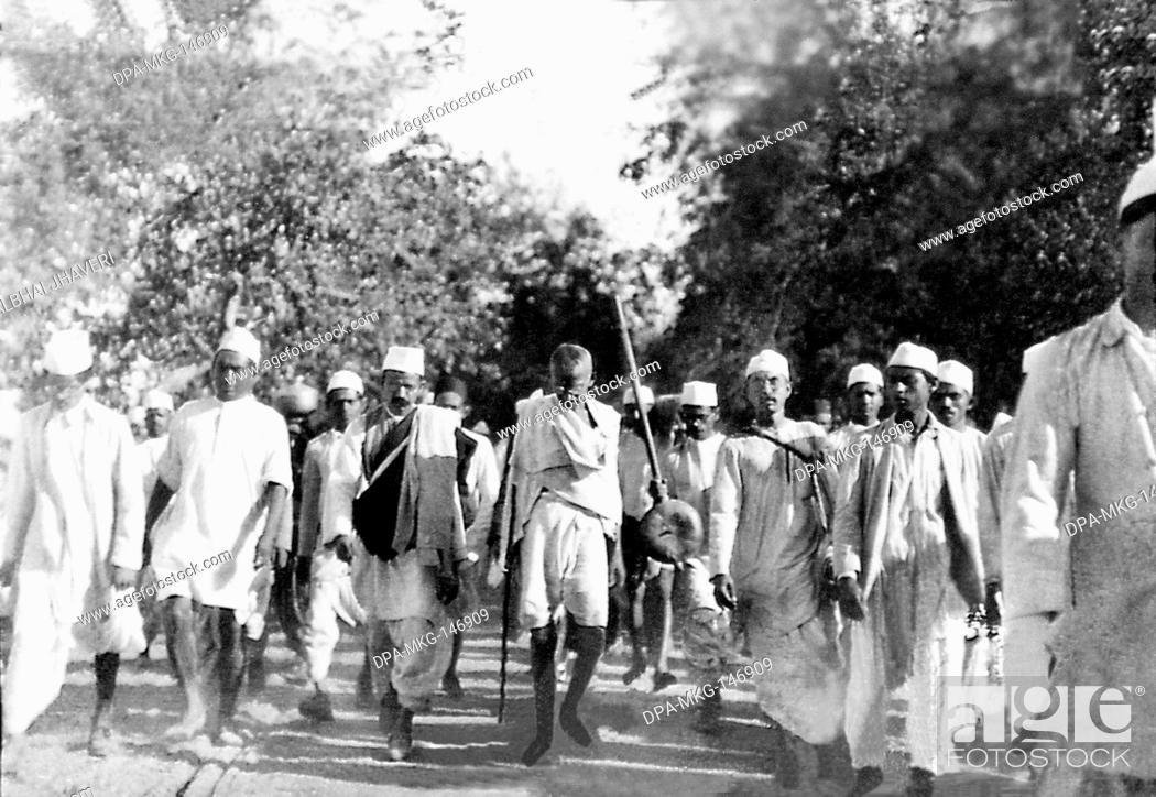 Stock Photo: Famous political figure Mahatma Gandhi , India NO MR.