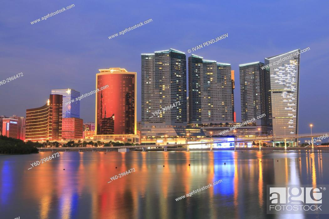 Stock Photo: Macau, China.