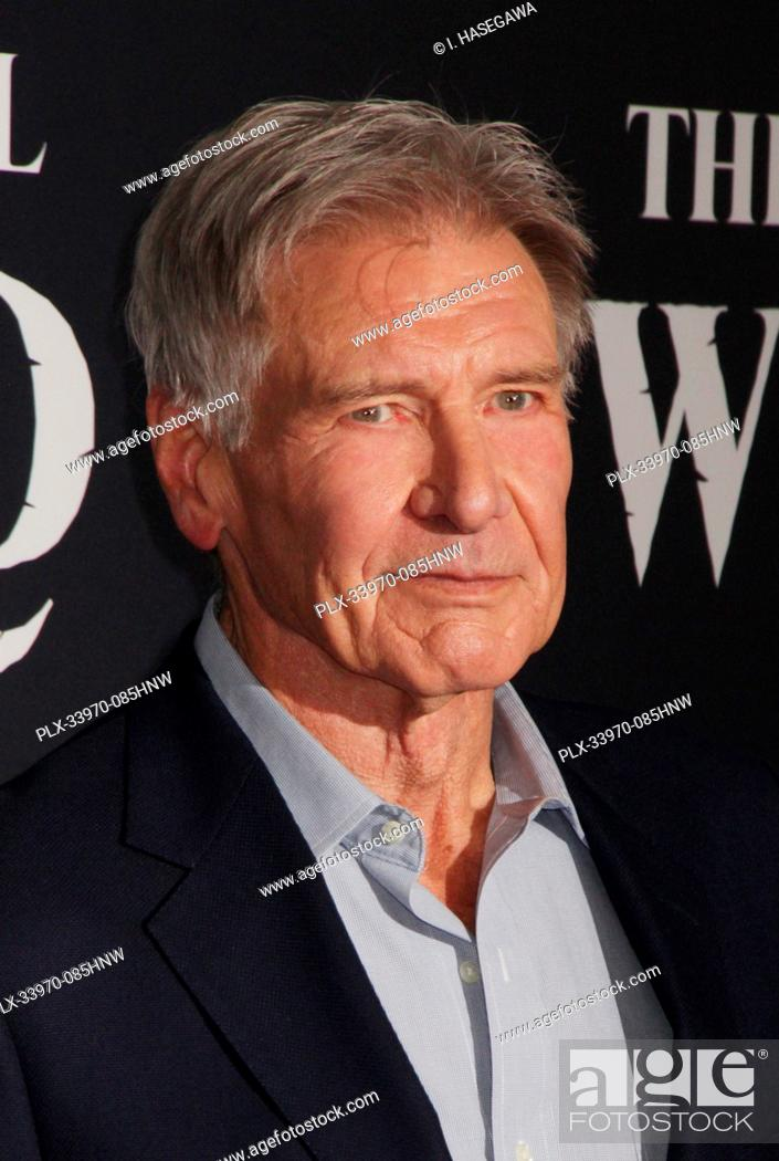 "Stock Photo: Harrison Ford 02/13/2020 The World Premiere of """"The Call of the Wild"""" held at The El Capitan Theatre in Los Angeles, CA. Photo by I."