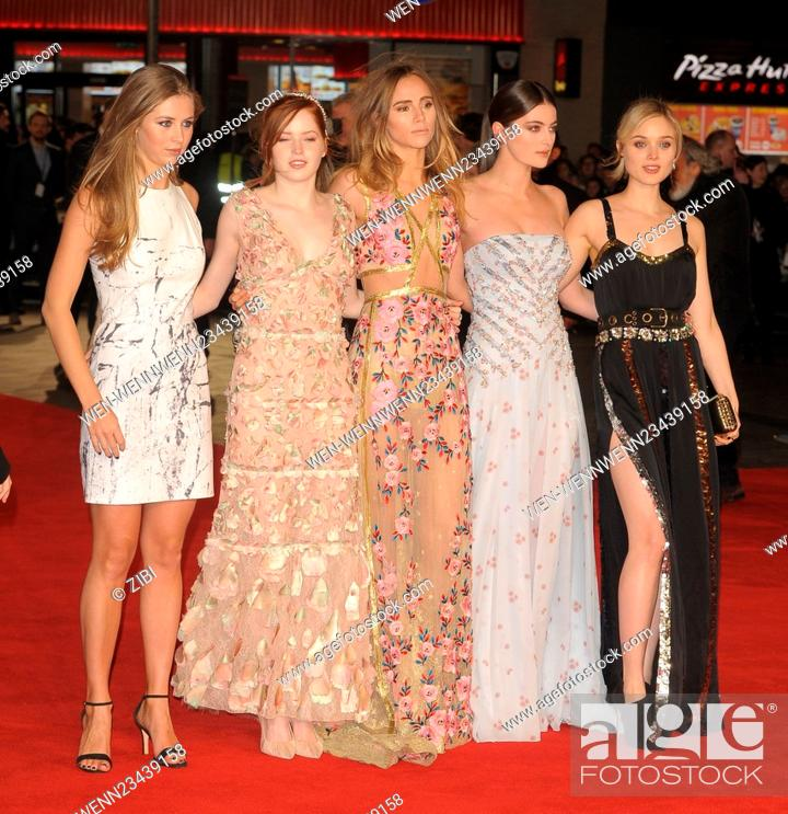 Pride And Prejudice And Zombies Film Premiere Featuring