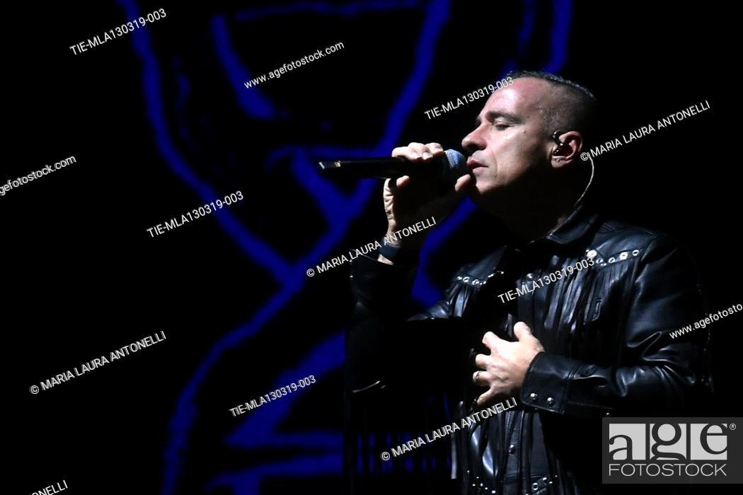 Imagen: Italian singer Eros Ramazzotti in concert, Rome, ITALY-13-03-2019.