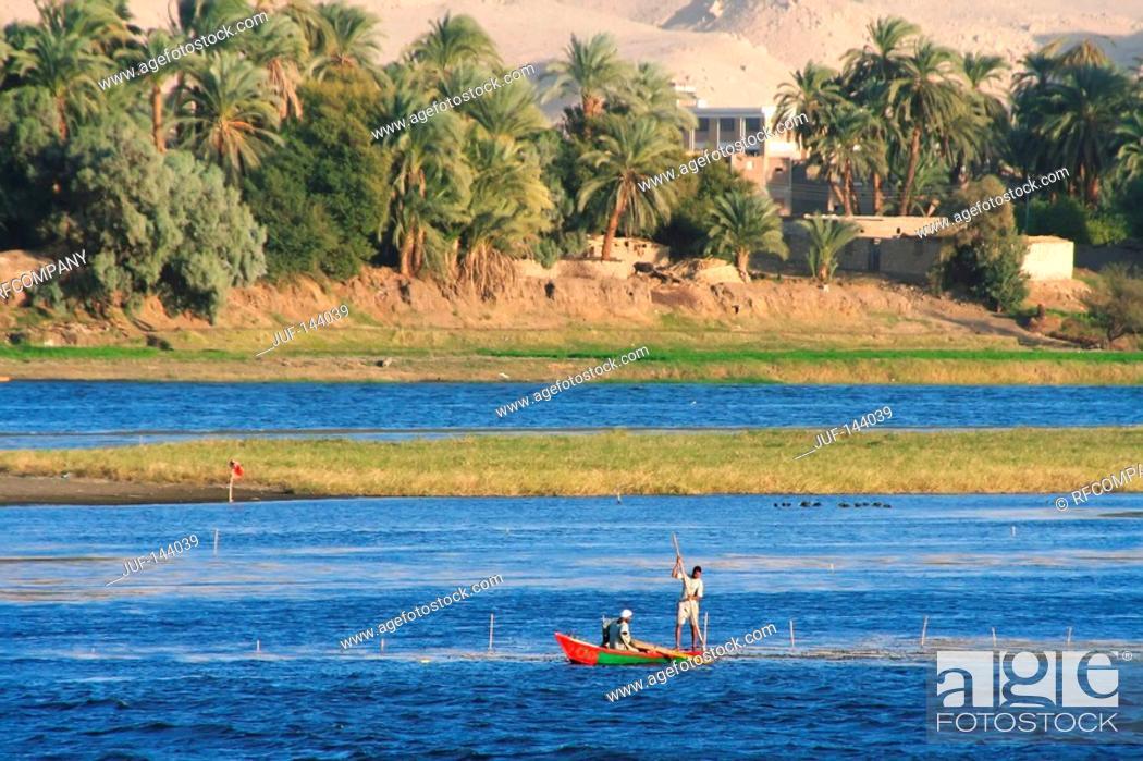 Stock Photo: Egypt: Nile landscape.