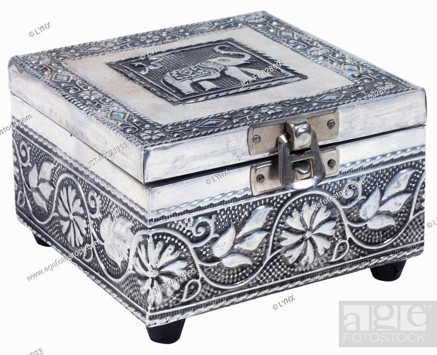 Stock Photo: World symbols: Jewel box India.