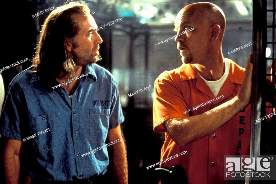 Nicolas Cage John Malkovich Characters Cameron Poe Cyrus The Virus Grissom Film Con Air Stock Photo Picture And Rights Managed Image Pic Mev 12574790 Agefotostock