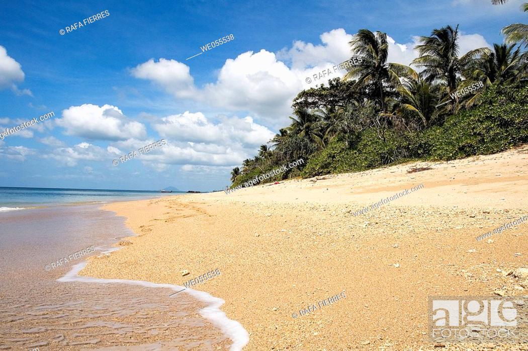 Stock Photo: Beach in Koh Lanta island. Krabi, Thailand.