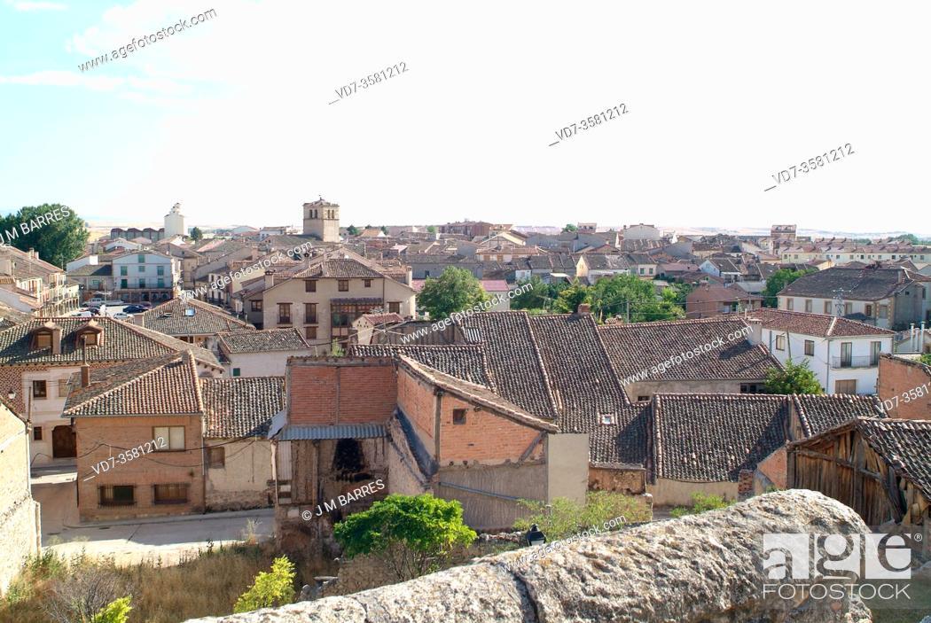 Stock Photo: Turegano, Segovia province, Castilla y Leon, Spain.