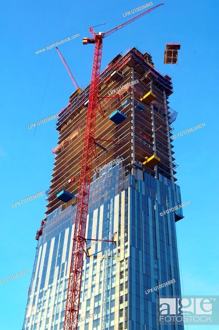 Stock Photo: High rise development.