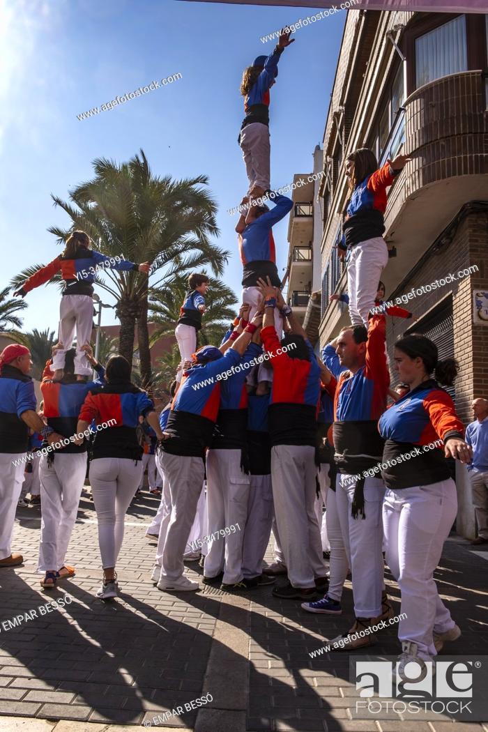 Imagen: Muixeranga. Picanya, València. Spain. 2020.