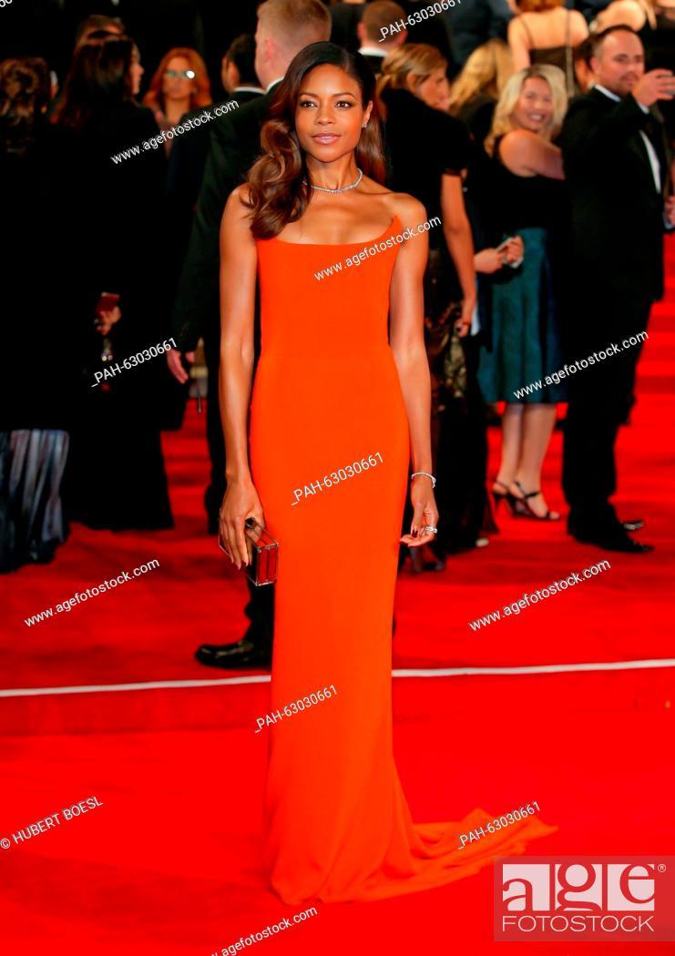 British actress/cast member Naomie Harris attends the world