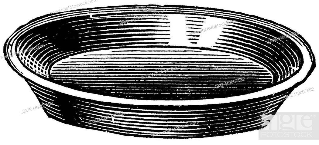 Stock Photo: Baking dish.