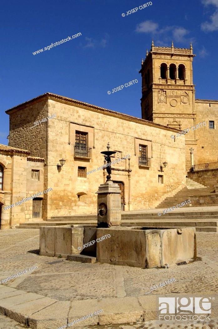 Stock Photo: Morón de Almazán. Soria province, Castilla-Leon, Spain.