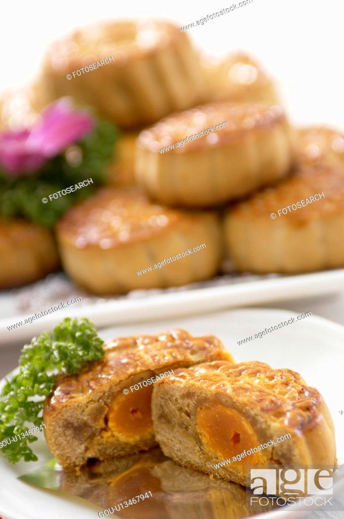 Stock Photo: Pastry.