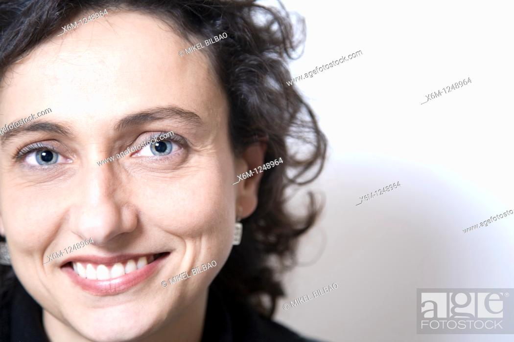 Stock Photo: model portrait.