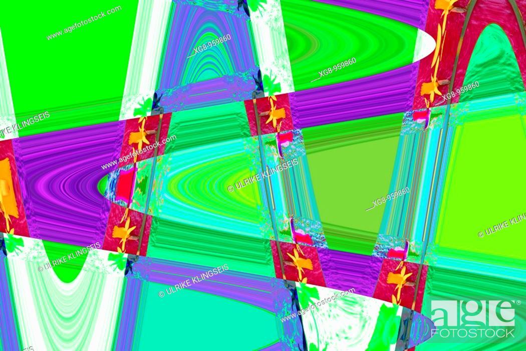 Stock Photo: multi-colored collage.
