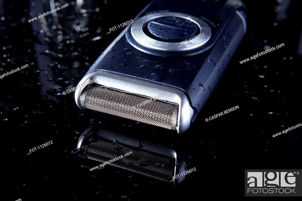 Stock Photo: An elegant electric razor.
