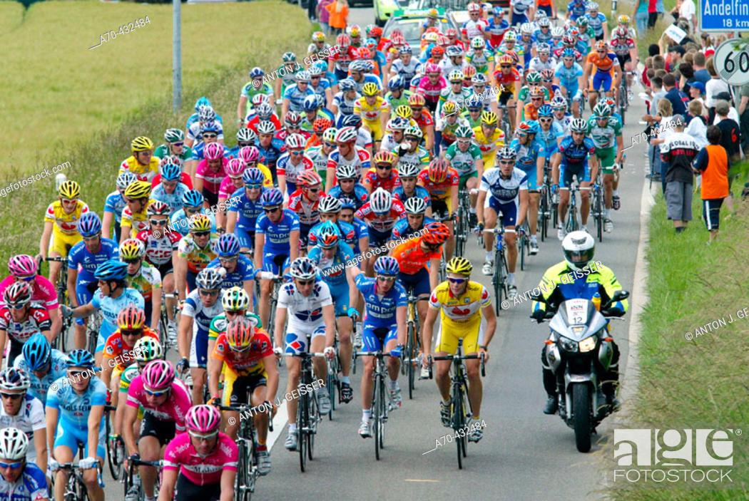 Stock Photo: Tour de Suisse, 2005.