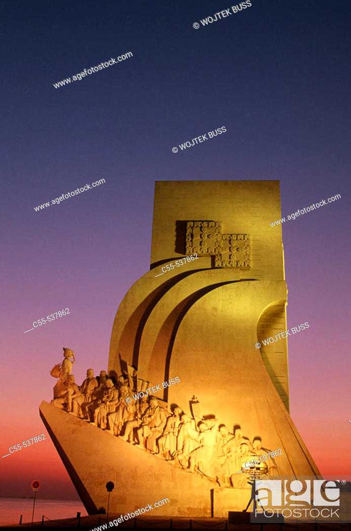 Stock Photo: Monument to the Discoveries, Lisbon. Portugal.