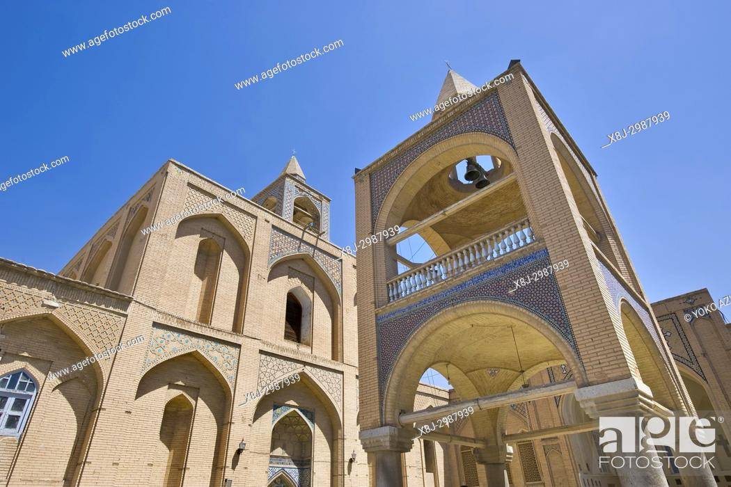 Imagen: Iran, Isfahan, Armenian quarter, Vank cathedral.