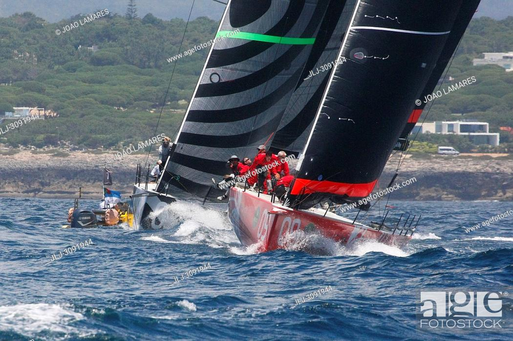 Stock Photo: Provezza, #09, Owner: Ergin Imre, Sail nr: TUR1212, Yacht Club TAYK - Istambul, Builder: Persico; Rolex TP 52 World Championship, TP52 Super Serires, Cascais.
