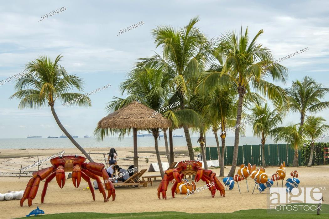 The Beach Front Of Forest City Phoenix International Marina Hotel Johor Bahru Malaysia Stock Photo Picture And Rights Managed Image Pic U37 3318259 Agefotostock