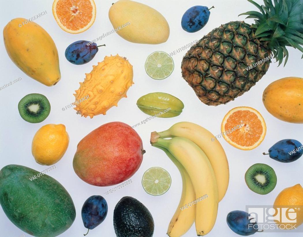 Stock Photo: Fresh Fruit.